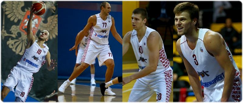 Павел Афанасьев, Александр Кузнецов, Дмитрий Коршаков, Андрей Сопин